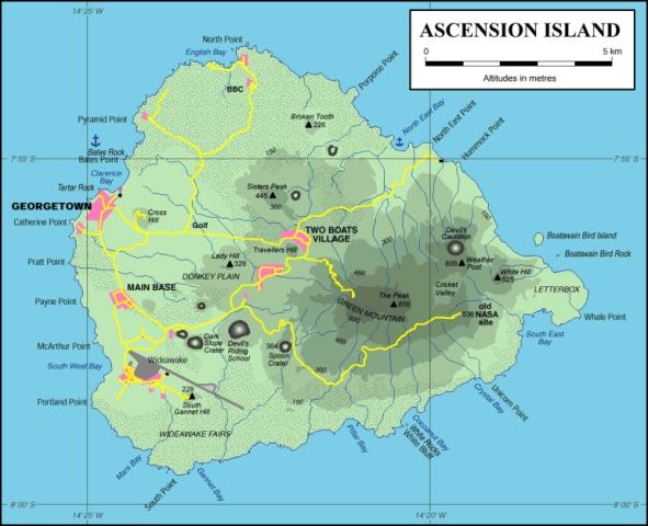 ASI Island Map