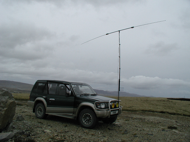 Buddipole in Action - Mobile !