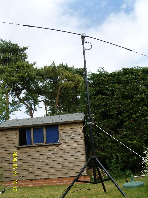 Base HF G-Whip Antenna